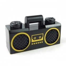 Radio Boom Box (Black)