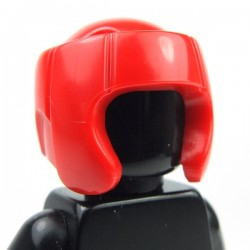Red Minifig, Headgear Helmet Boxing