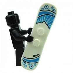 Lego Accessoires Minifig Snowboard (Blanc) (La Petite Brique)
