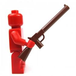 Reddish Brown Minifig, Weapon Gun, Rifle