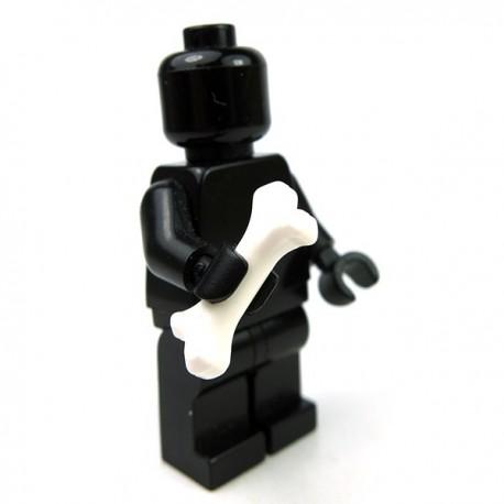 Lego Accessoires Minifig Os (blanc) (La Petite Brique)
