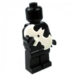 Lego Accessoires Minifig Custom SIDAN TOYS Batarang (Blanc) (La Petite Brique)