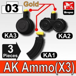 AK Ammo (KA1+KA2+KA3) (Black)