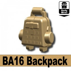 BA16 Backpack (Dark Tan)