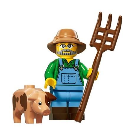 Lego Minifig Serie 15 71011 - le fermier (La Petite Brique)