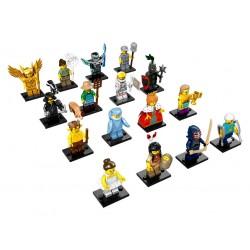 LEGO Serie 15 - 16 minifigures - 71011 (La Petite Brique)