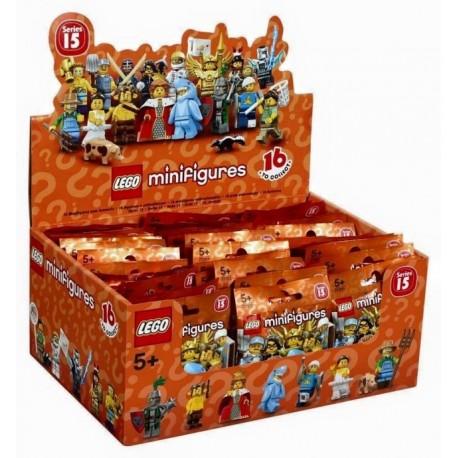 Lego Minifig Serie 15 71011 - Boite complète de 60 sachets - Série 15 (La Petite Brique)