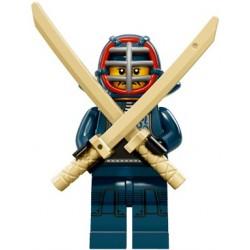 Lego Minifig Serie 15 71011 - le kendoka (La Petite Brique)