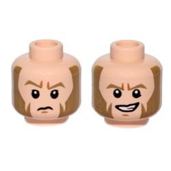 Lego Accessoires Minifig Tête masculine, chair, 51 (double visage) (La Petite Brique)