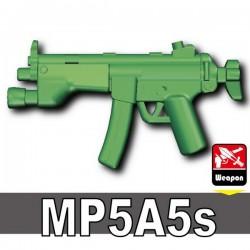 Lego Accessoires Minifig Custom SIDAN TOYS MP5A5s (Sand Green) (La Petite Brique)
