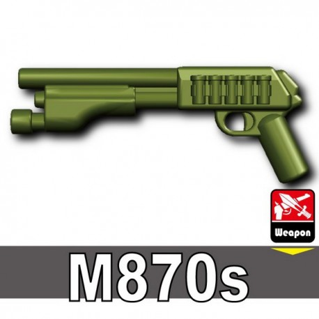Lego Accessoires Minifig Custom SIDAN TOYS M870s (Vert Militaire) (La Petite Brique)