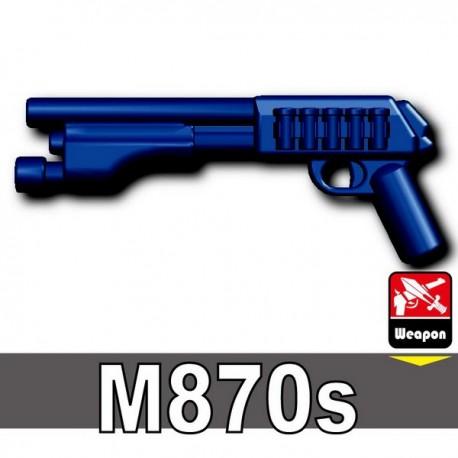 Lego Accessoires Minifig Custom SIDAN TOYS M870s (Dark Blue) (La Petite Brique)