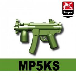 Lego Accessoires Minifig Custom SIDAN TOYS MP5KS (Vert Militaire) (La Petite Brique)