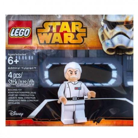 Lego Minifig POLYBAG 5002947 - Admiral Yularen (Star Wars) (La Petite Brique)