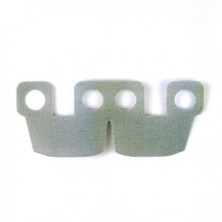 Lego Accessoires Minifig Armor Kama Cloth (Light Bluish Gray) (La Petite Brique)