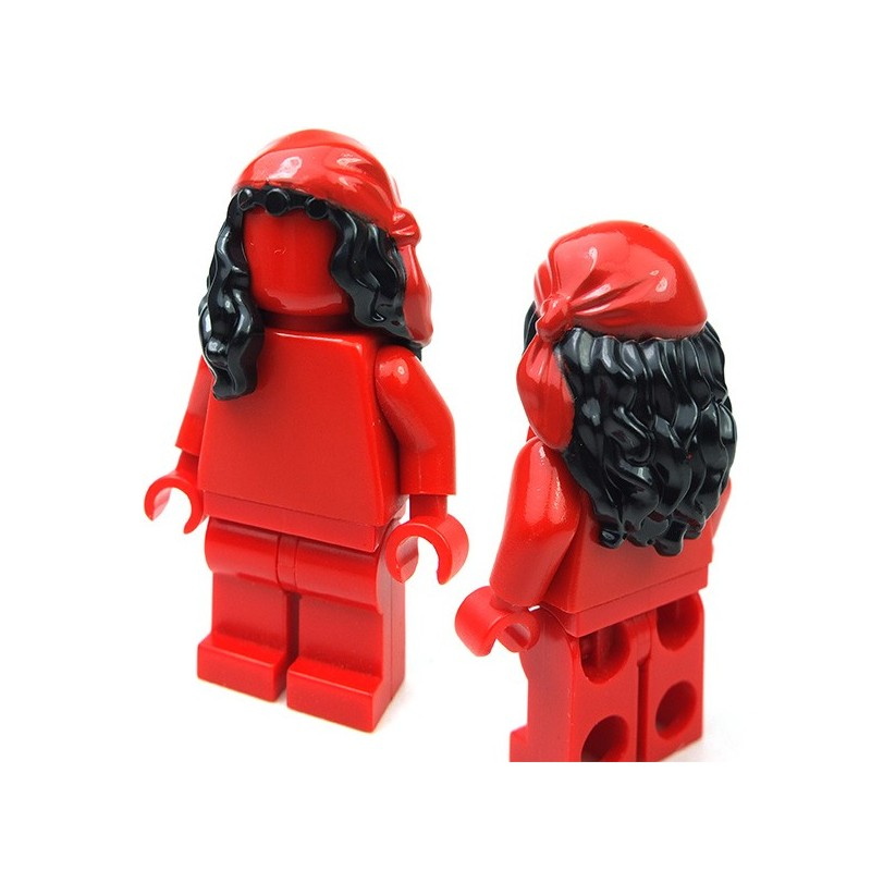 Lego 1x Minifig cheveux coiffure hair long rouge//red 85974 NEUF