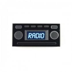 Lego Accessoires Minifig Radio - Tile 1x2 (noir) (La Petite Brique)