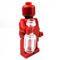 Lego Accessoires Minifig Bouteille (Transparent) (La Petite Brique)