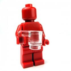 Lego Accessoires Minifig Tasse (Transparent) (La Petite Brique)