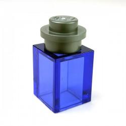Lego Accessoires Minifig Bocal avec couvercle (Trans-Purple) (La Petite Brique)