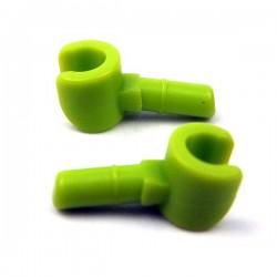 Lego Accessoires Minifig Minifig, Mains (Lime) (La Petite Brique)