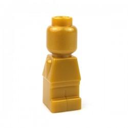 Lego Accessoires Minifig Statuette Microfig (Pearl Gold) (La Petite Brique)