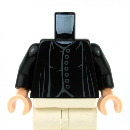Black Torso 7 Gray Buttons