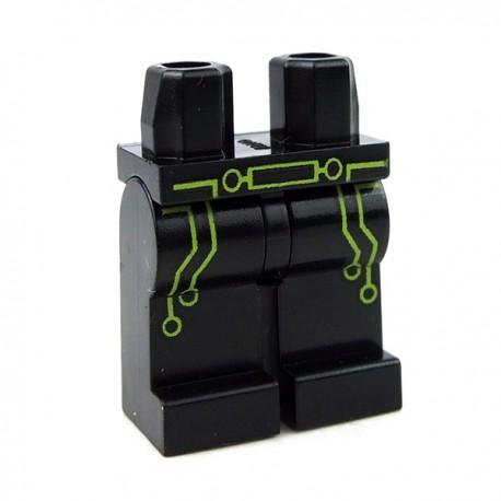 Black Legs with Lime Green Circuit Trim & Belt