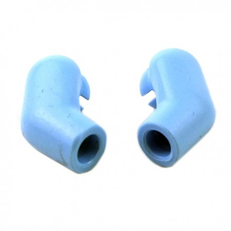 Bright Light Blue Arm, (Left and Right) Pair