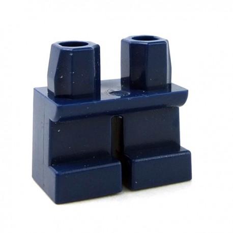 Lego Accessoires Minifig Jambes courtes (Dark Blue) (La Petite Brique)