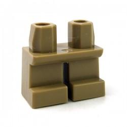 Lego Accessoires Minifig Jambes courtes (Dark Tan) (La Petite Brique)