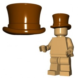 Top Hat (Brown)