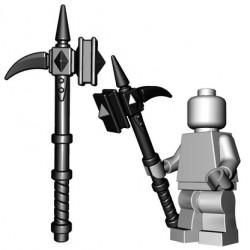 Lego Accessoires Minifig Custom BRICKWARRIORS War Hammer (Noir) (La Petite Brique)