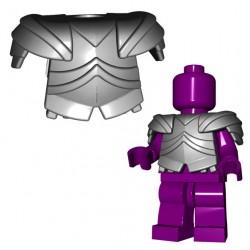 Lego Accessoires Minifig Custom BRICKWARRIORS Armure Plate (Steel) (La Petite Brique)