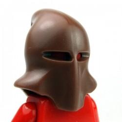 Lego Accessoires Minifig Custom BRICKWARRIORS Executioner Hood (Marron) (La Petite Brique)