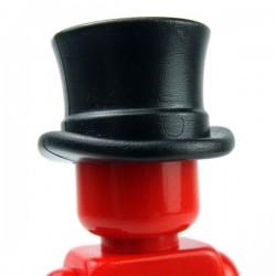 Lego Accessoires Minifig Custom BRICKWARRIORS Chapeau Haut de Forme (Noir) (La Petite Brique)