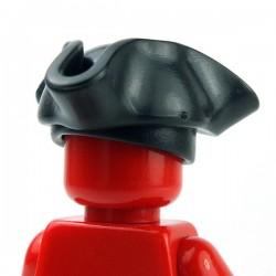 Lego Accessoires Minifig Custom BRICKWARRIORS Tricorne Pirate (Noir) (La Petite Brique)