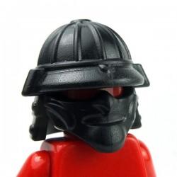 Lego Accessoires Minifig Custom BRICKWARRIORS Samurai Helmet (Noir) (La Petite Brique)