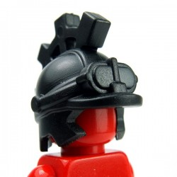 Lego Accessoires Minifig Custom BRICKWARRIORS Steampunk Helm (Noir) (La Petite Brique)