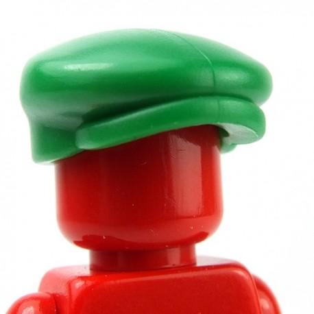 Lego Accessoires Minifig Custom BRICKWARRIORS Casquette Hooligan (Green) (La Petite Brique)