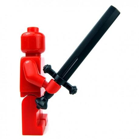 Lego Accessoires Minifig Custom BRICKWARRIORS Executioner Sword (Noir) (La Petite Brique)