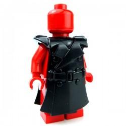 Lego Accessoires Minifig Custom BRICKWARRIORS Trench Coat (noir) (La Petite Brique)