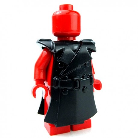 Trench Coat For Lego Minifigures, Lego Minifigure Scale Trench Coat