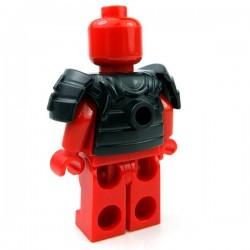 Lego Accessoires Minifig Custom BRICKWARRIORS Armure Samurai (Noir) (La Petite Brique)