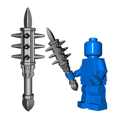 Lego Accessoires Minifig Custom BRICKWARRIORS Holy Water Sprinkler (Steel) (La Petite Brique)
