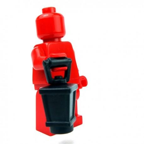 Lego Accessoires Minifig Custom BRICKWARRIORS Lanterne (Noir) (La Petite Brique)