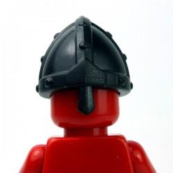 Lego Accessoires Minifig Custom BRICKWARRIORS Nasal Helm (Noir) (La Petite Brique)