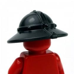 Lego Accessoires Minifig Custom BRICKWARRIORS Kettle Helm (Noir) (La Petite Brique)