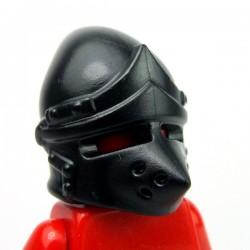 Lego Accessoires Minifig Custom BRICKWARRIORS Pig Snout Bascinet (Noir) (La Petite Brique)