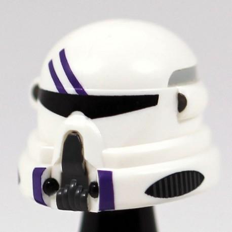 Lego Accessoires Minifig Custom CAC Casque Airborne Purple (La Petite Brique)
